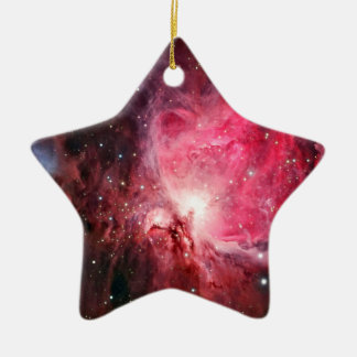 Orion nebula ceramic star ornament