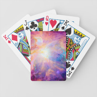 Orion Nebula Colorful Pink Purple Bicycle Playing Cards