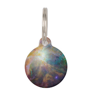 Orion Nebula Composite Pet Name Tag