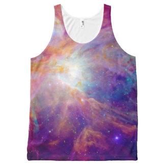 Orion Nebula Fuschia Pink NASA All-Over-Print Tank Top