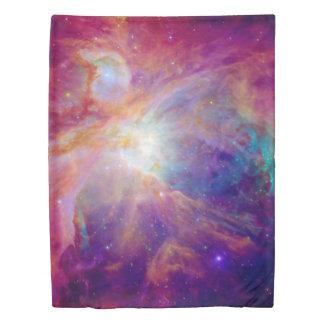 Orion Nebula Fuschia Pink NASA Duvet Cover