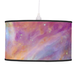 Orion Nebula Fuschia Pink NASA Pendant Lamp