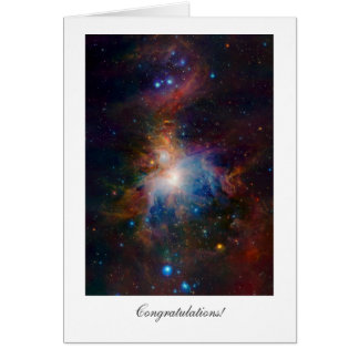 Orion Nebula - General Congratulations Card
