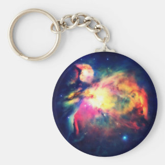 Orion Nebula Hauntingly Beautiful Basic Round Button Keychain