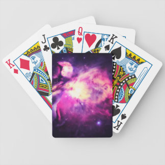 Orion Nebula Hauntingly Beautiful Purple Bicycle Playing Cards