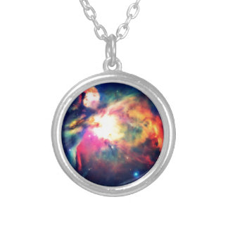 Orion Nebula Hauntingly Beautiful Silver Plated Necklace