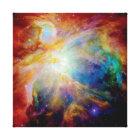 Orion Nebula Hubble Spitzer Telescope Space Photo Canvas Print
