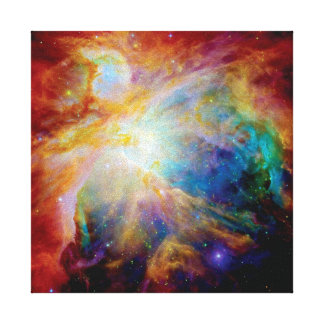 Orion Nebula Hubble Spitzer Telescope Space Photo Canvas Print
