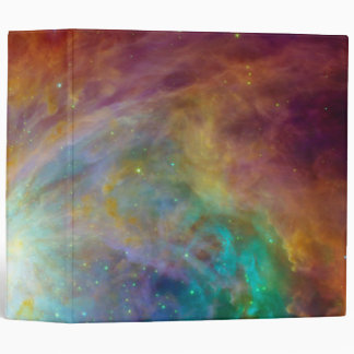 Orion Nebula (Hubble & Spitzer Telescopes) Vinyl Binder