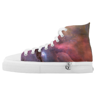 Orion Nebula M42 High-Top Sneakers