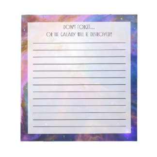 Orion Nebula Notepad