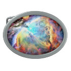 Orion Nebula Oval Belt Buckle