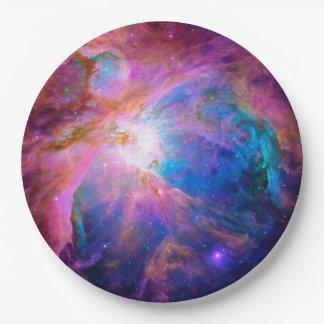 Orion Nebula Paper Plate