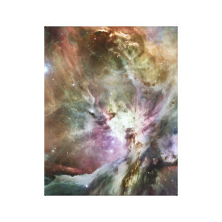 Orion Nebula Pastels Canvas Print