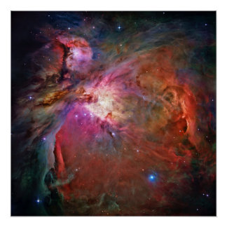 Orion Nebula Perfect Poster