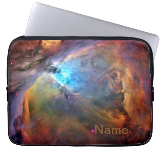 """Orion Nebula Personalized Zippered Laptop Case 13"""" Computer Sleeves"""