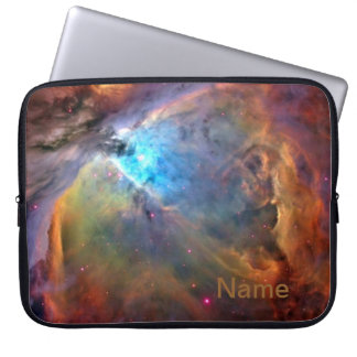 """Orion Nebula Personalized Zippered Laptop Case 15"""" Computer Sleeves"""