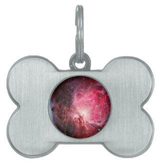 Orion nebula pet name tags
