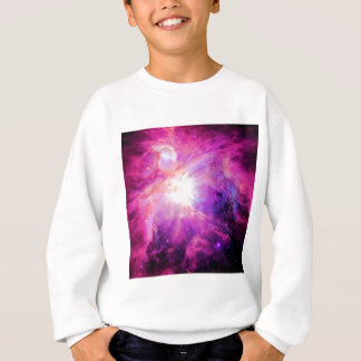 Orion Nebula Pink Purple Galaxy Sweatshirt