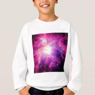 Orion Nebula Pink Purple Galaxy Sweatshirt
