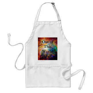 Orion Nebula Rainbow Galaxy Standard Apron