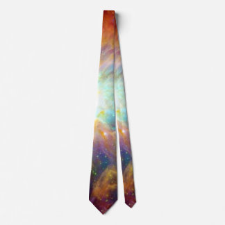 Orion Nebula Rainbow Galaxy Tie