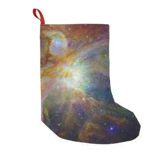 Orion Nebula reddish brown NASA Small Christmas Stocking