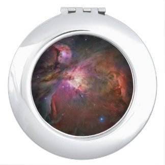 Orion Nebula Round Compact Mirror