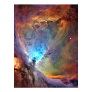 Orion Nebula Space Craft Paper - 2 Sided Flyer