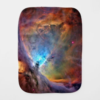 Orion Nebula Space Galaxy Baby Burp Cloth