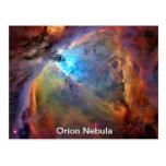 Orion Nebula Space Galaxy Post Card