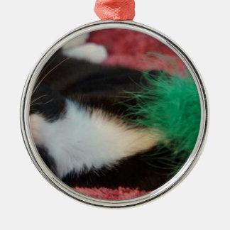 Orion Silver-Colored Round Ornament