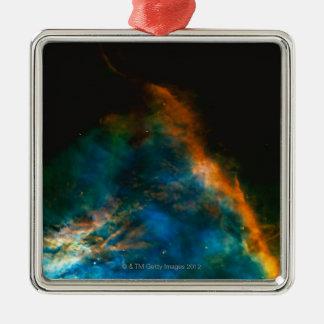 Orion Silver-Colored Square Ornament