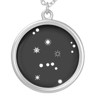 Orion Silver Plated Necklace