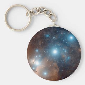 Orion's Belt Basic Round Button Keychain