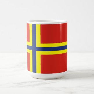 orkney country flag great britain united kingdom coffee mug