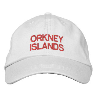 Orkney Islands Personalized Adjustable Hat