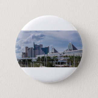 Orlando Aerial View 2 Inch Round Button