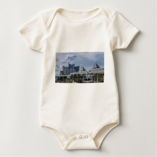 Orlando Aerial View Baby Bodysuit