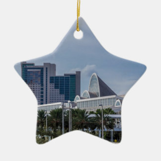 Orlando Aerial View Ceramic Ornament