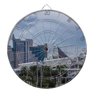 Orlando Aerial View Dartboard