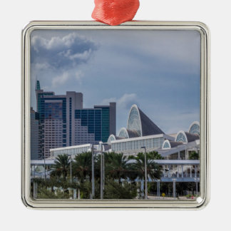 Orlando Aerial View Metal Ornament