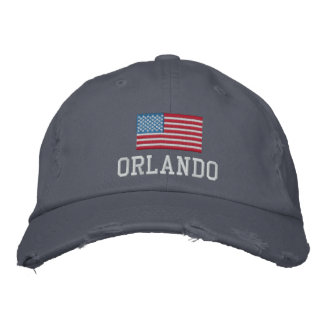 Orlando Embroidered Hat