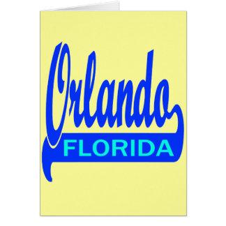 Orlando, Florida Card