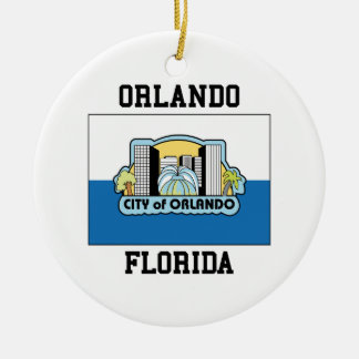 Orlando Florida Ceramic Ornament
