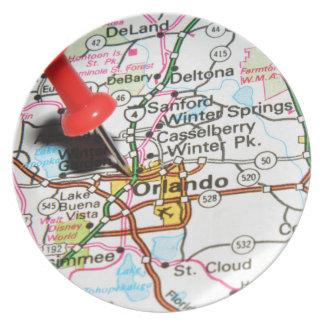 Orlando, Florida Plate