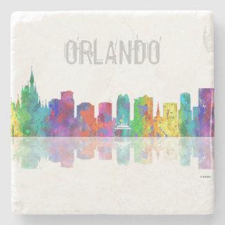 ORLANDO, FLORIDA SKYLINE - Stone Drinks Coaster