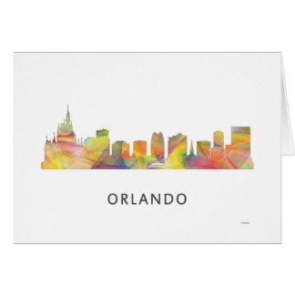ORLANDO, FLORIDA SKYLINE WB1 - CARD