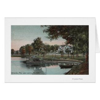 Orlando, Florida - View of a Cove at Lake Card