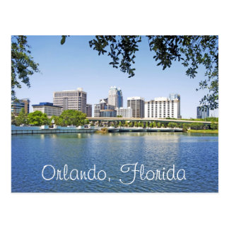 Orlando, Florida viewed from Lake Lucerne Postcard